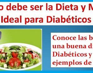 Entérate de Cómo Hacer un Menú Para Diabéticos